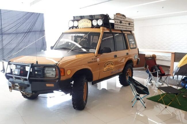 Land Rover Club Indonesia Gelar Camel Trophy Sumatra Tribute 2020