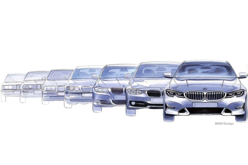 BMW 3 series evolution