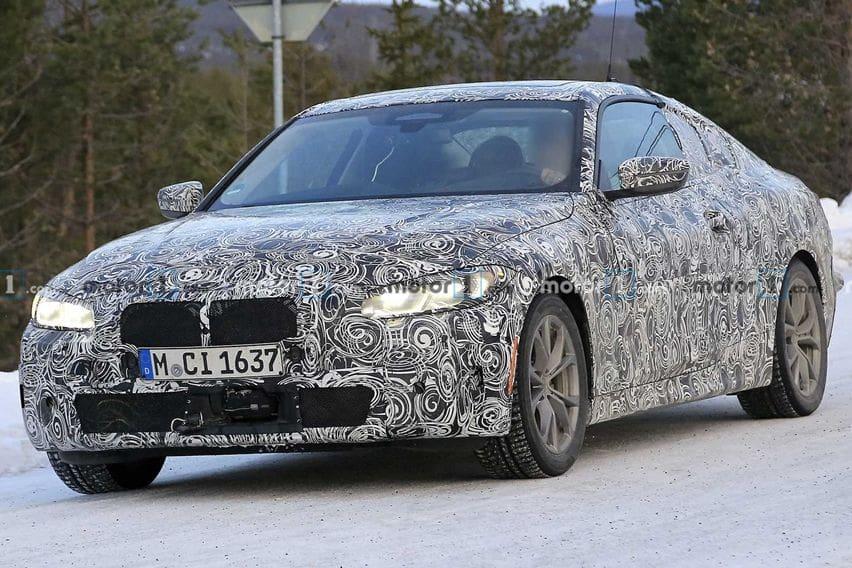 Bocoran Baru BMW 4-Series Menampilkan Grille Super Besar