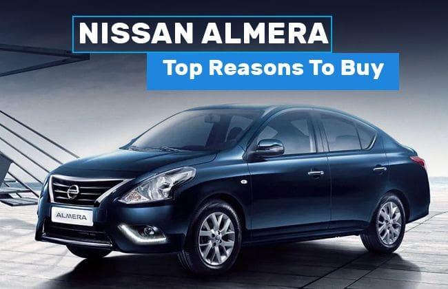 Nissan Almera - Top reasons to buy