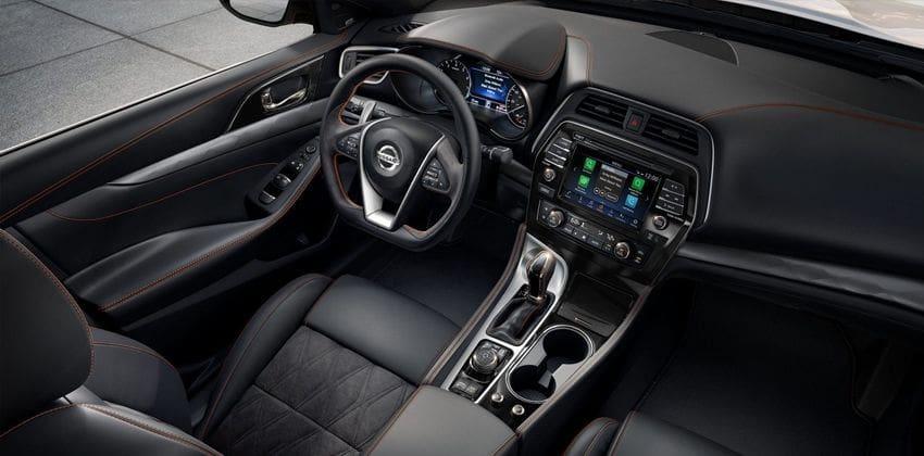 Nissan Maxima cabin