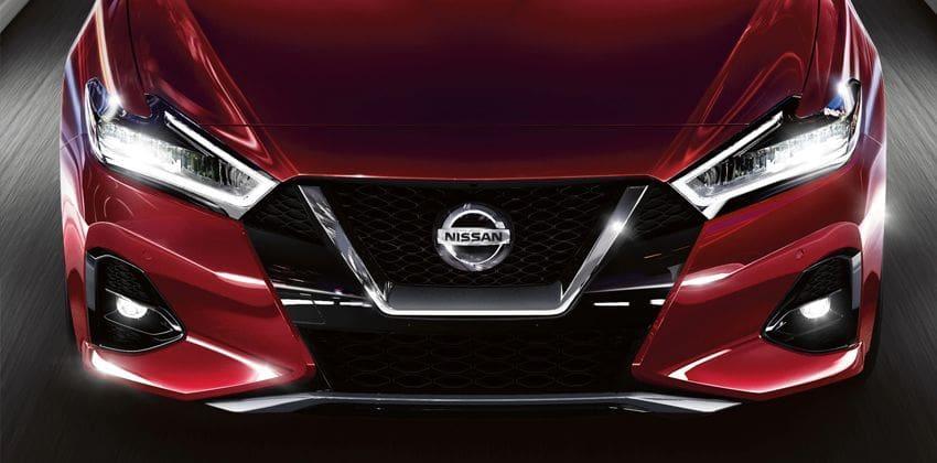 Nissan Maxima front