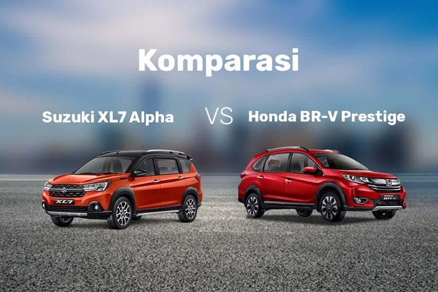 Suzuki XL7 Alpha vs Honda BR-V Prestige, Mana yang Layak Dibeli?