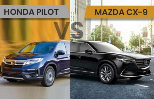 Honda Pilot vs Mazda CX-9 - The better buy