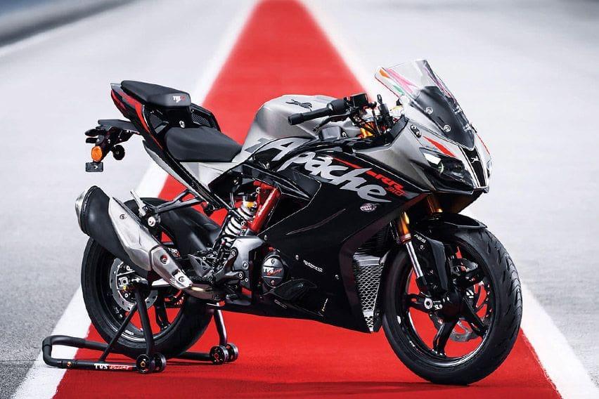 Kenali TVS Apache RR 310, Layak Saingi Lini Sport 250 cc Jepang?