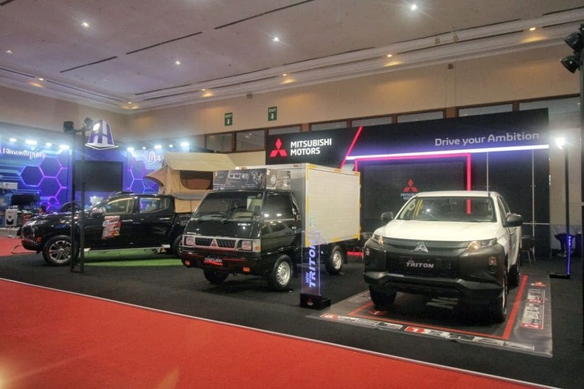 Lini kendaraan niaga ringan Mitsubishi di GIICOMVEC 2020