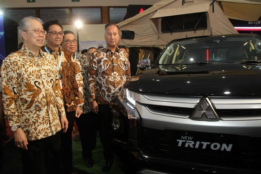 GIICOMVEC 2020: Mitsubishi Pamerkan Ragam Triton dan L300