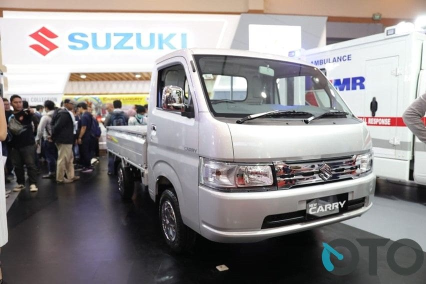suzuki carry luxury front end