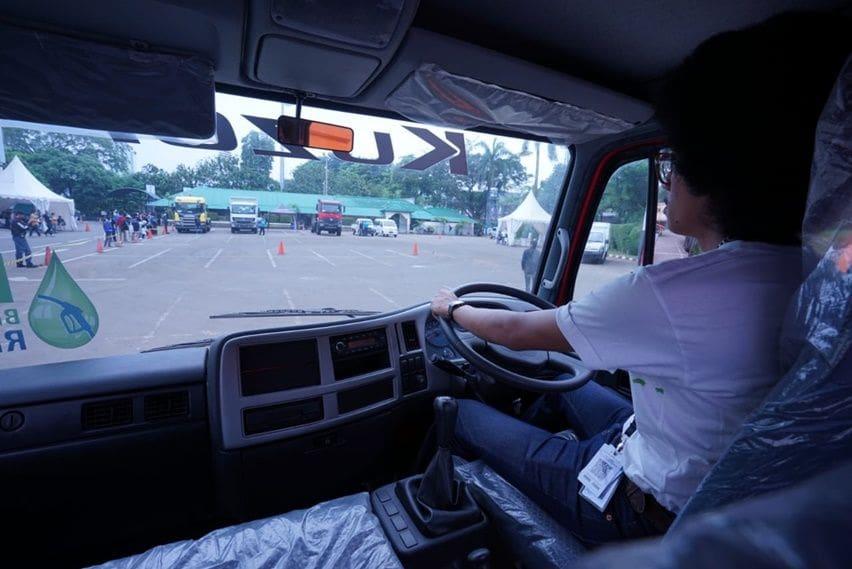 Review truk UD Kuzer RKE 150