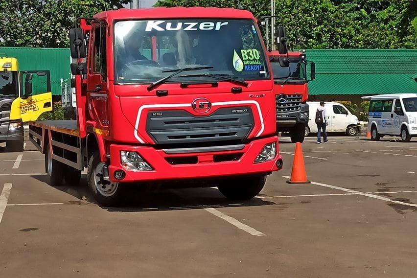 review UD Trucks Kuzer RKE 150