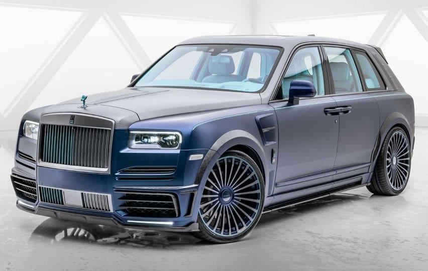 Modifikasi Nyeleneh Rolls Royce Cullinan Coastline Karya Mansory