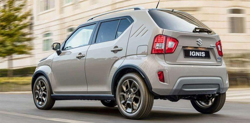 2020 Suzuki Ignis rear