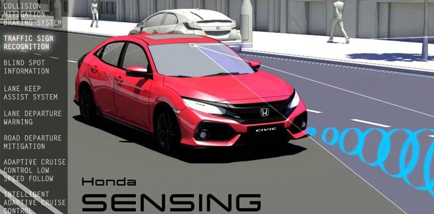Honda Sensing features