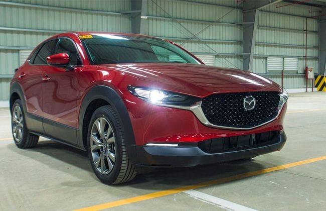 2020 Mazda Cx-30 makes it way to Thailand!