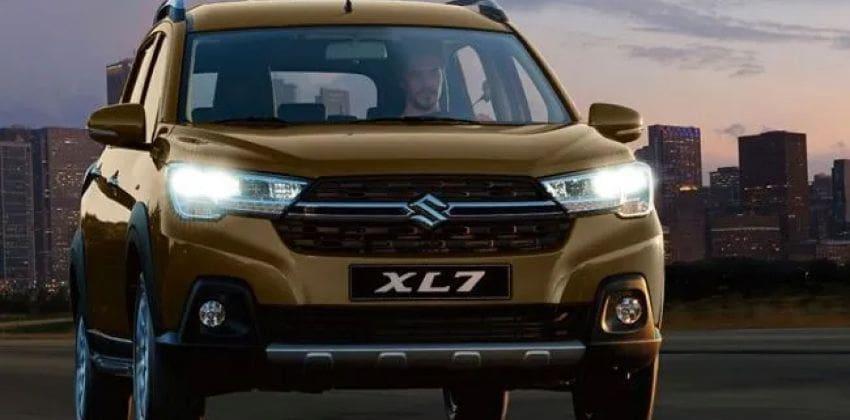 Suzuki XL7 front