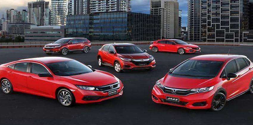 Honda Australia models