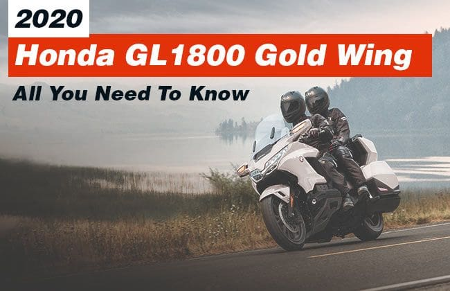 2020 Honda GL1800 Gold Wing: All you need to know