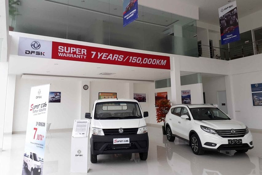 Showroom diler DFSK Surabaya
