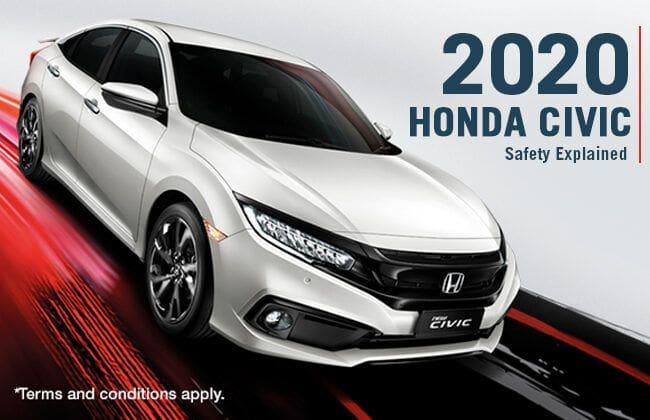 2020 Honda Civic: Safety explained