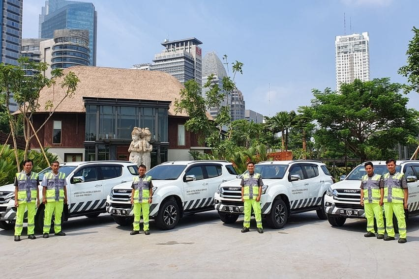 Layanan mobile service