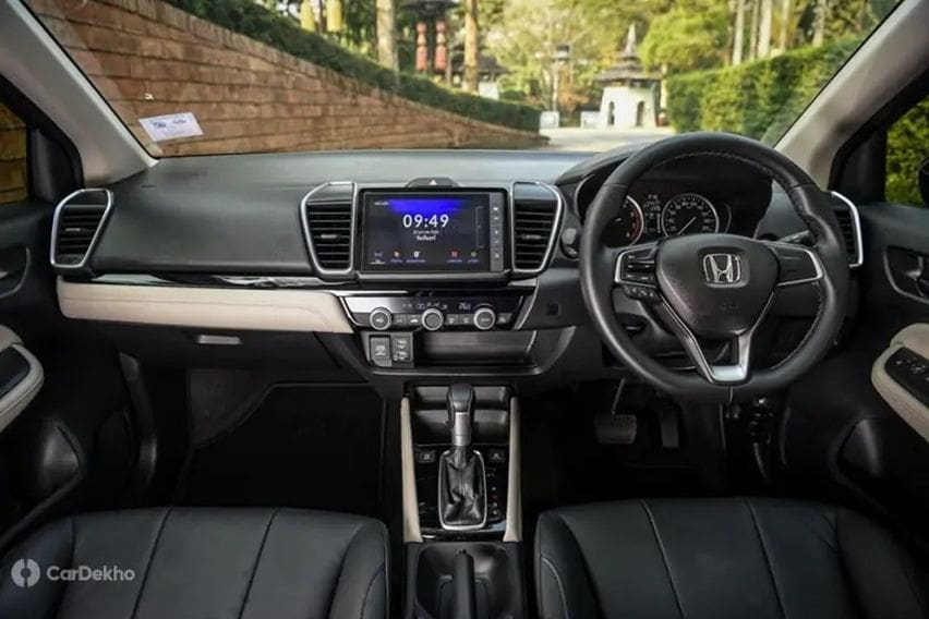 interior honda city