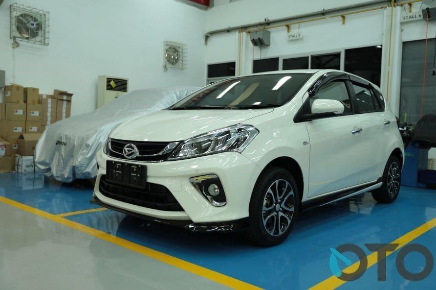 Daihatsu Sirion 2020 dengan penyegaran ringan