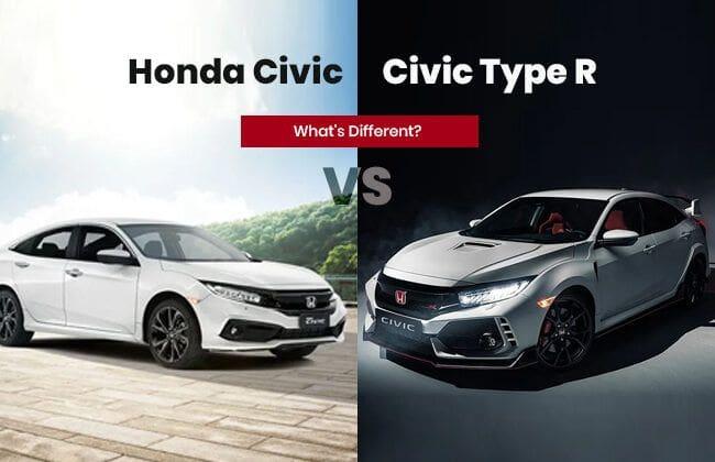 Honda Civic & Civic Type R - What's different