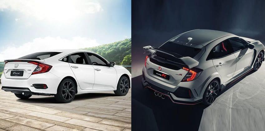 Honda Civic & Civic Type R - rear