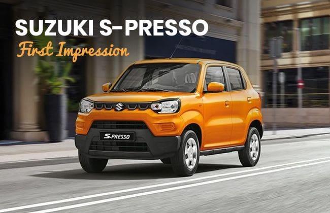 Suzuki S-Presso - First impression