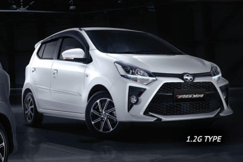 Toyota Agya tipe G