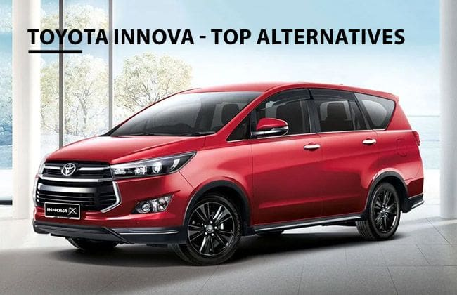 Toyota Innova: Top alternatives