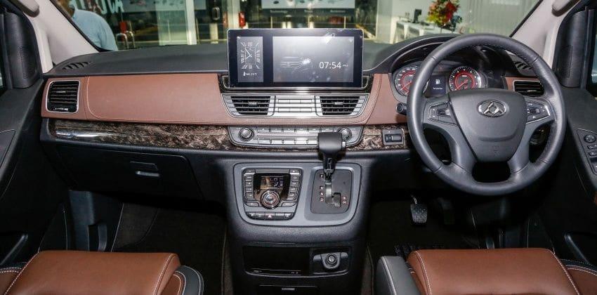 Maxus G10 SE interior