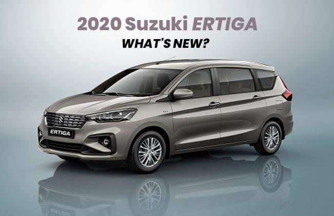 All about 2020 Suzuki Ertiga upgrades