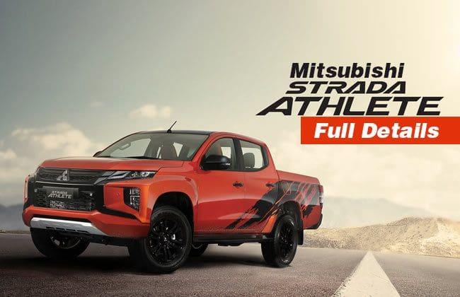 Mitsubishi Strada Athlete - Full details