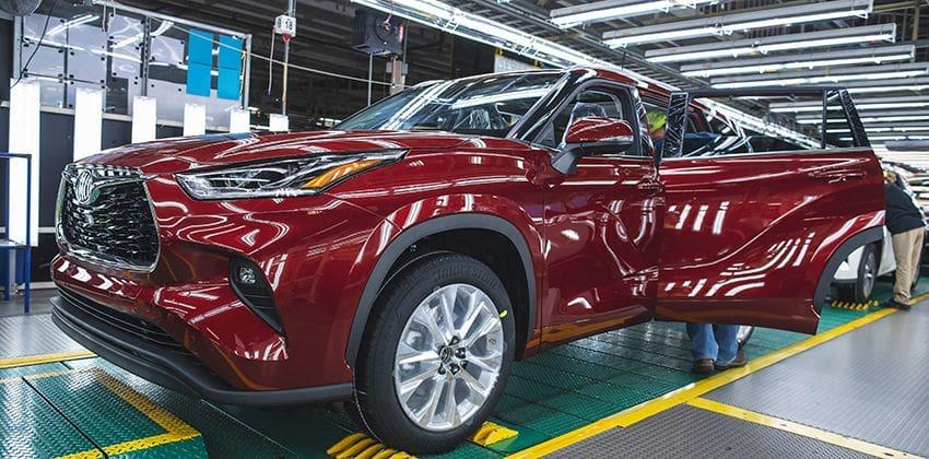 Toyota plant shutdown body photo