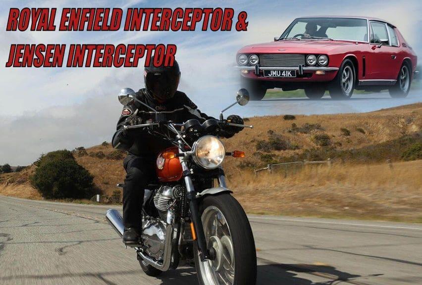 Nama Interceptor motor dan mobil