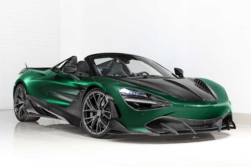Modifikator Rusia Bikin McLaren 720S Spider Makin Kekar