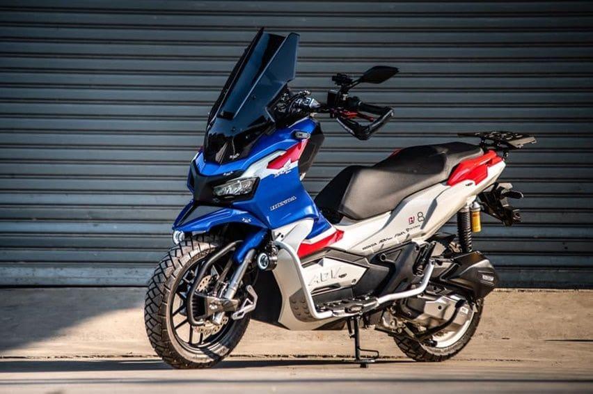 Modifikasi Honda ADV150 Thailand