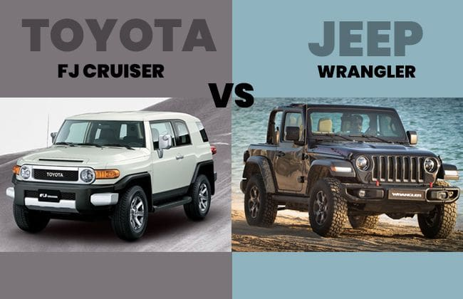Toyota FJ Cruiser vs Jeep Wrangler - The better 4x4 SUV