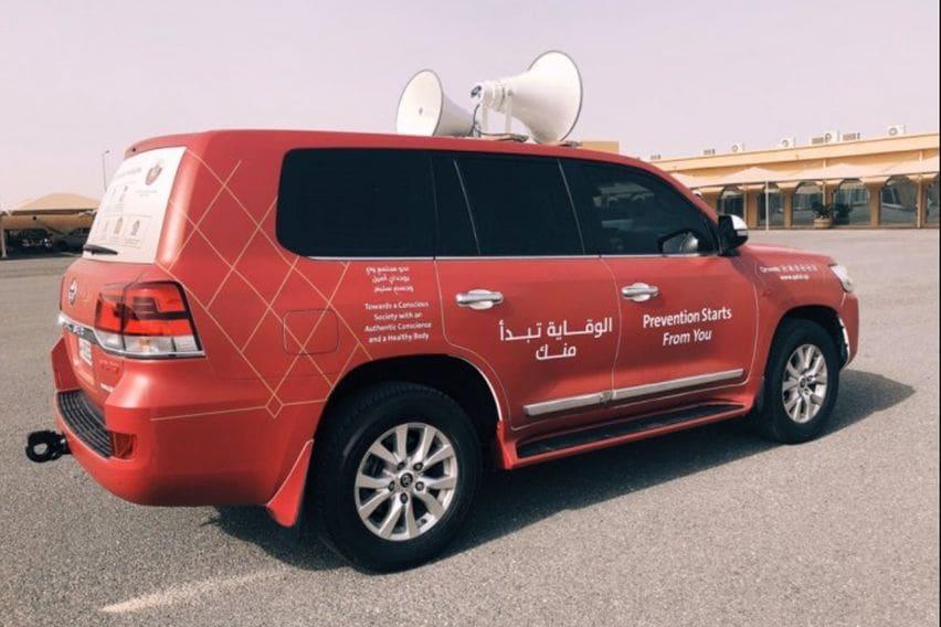 Pakai Toyota Land Cruiser, Pemerintah Qatar Imbau Warga Tetap di Rumah