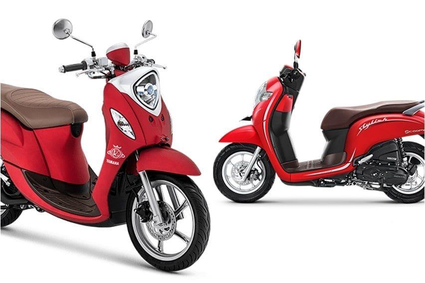 Skutik Retro Rp 19 jutaan, Pilih Honda Scoopy atau Yamaha Fino Grande?