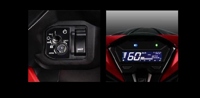 Honda Click 125i features