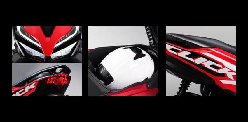 Honda Click 125i specs