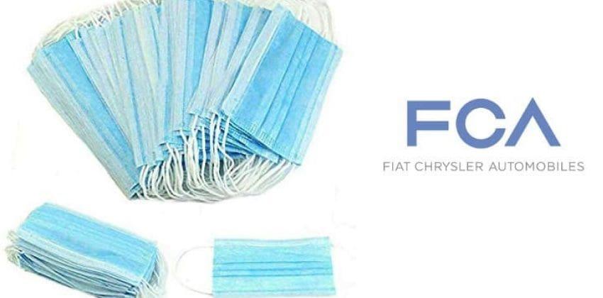 Fiat Chrysler Automobiles FACE MASKS