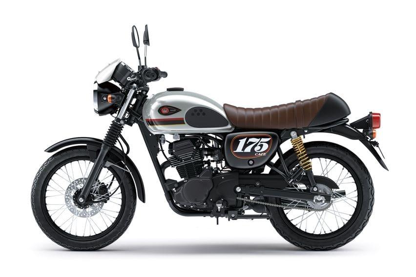 Kawasaki W175 Cafe MY2020 silver