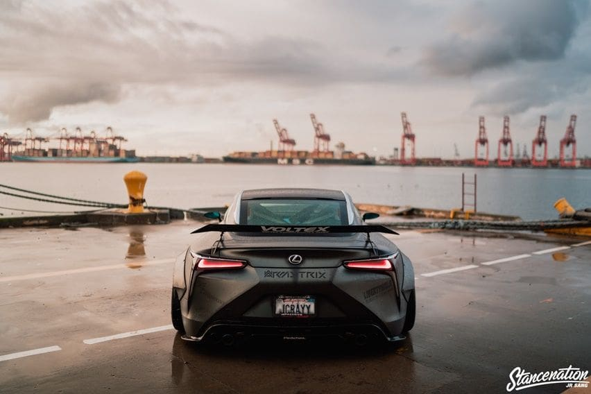 Lexus LC500 modifikasi