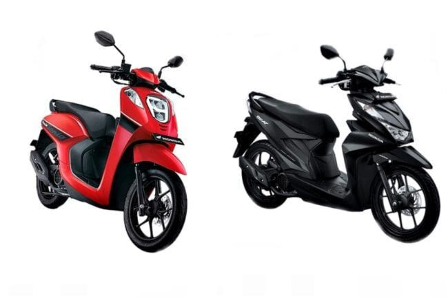 Selisih Tak Sampai Rp 500 Ribu, Pilih Honda Beat CBS ISS Deluxe atau Genio CBS?