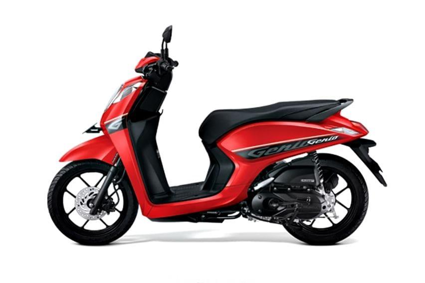 Honda Genio CBS merah
