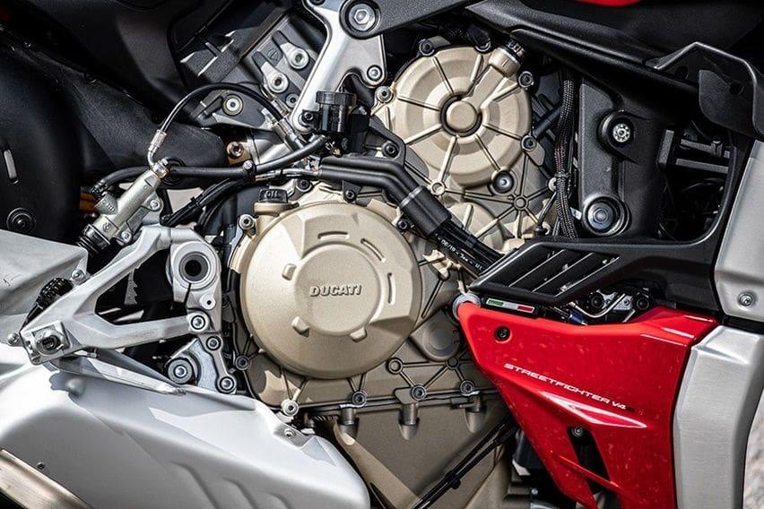 Mesin Ducati Streetfighter V4