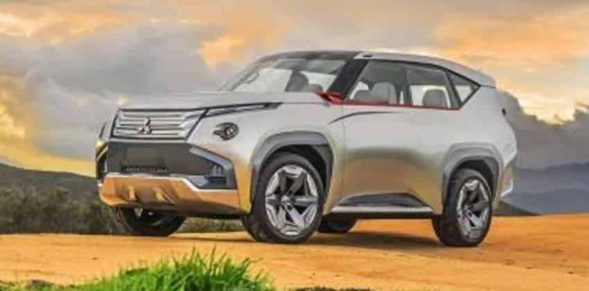 Mitsubishi's GC PHEV front